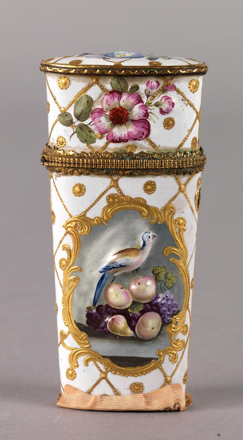 Anónimo. Neceser de bolsillo. Tercer cuarto del siglo XVIII. Museo Nacional del Prado. Madrid.