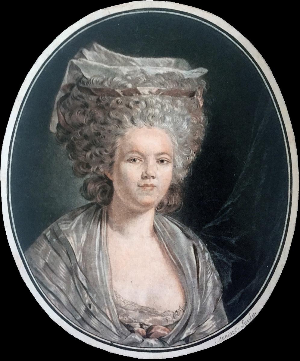 Jean-Françoise Janinet. Rose Bertin. Antes de 1790.