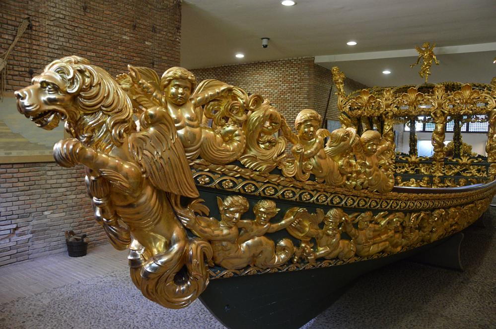 Falúa de Carlos II. Finales del siglo XVII. Museo de Aranjuez.