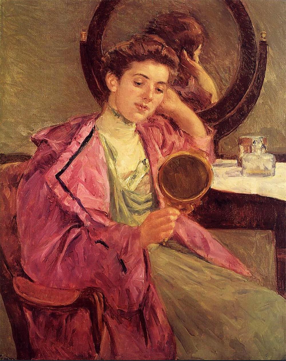 Mary Cassatt.Dama en su toilette. 1909. Colección particular.