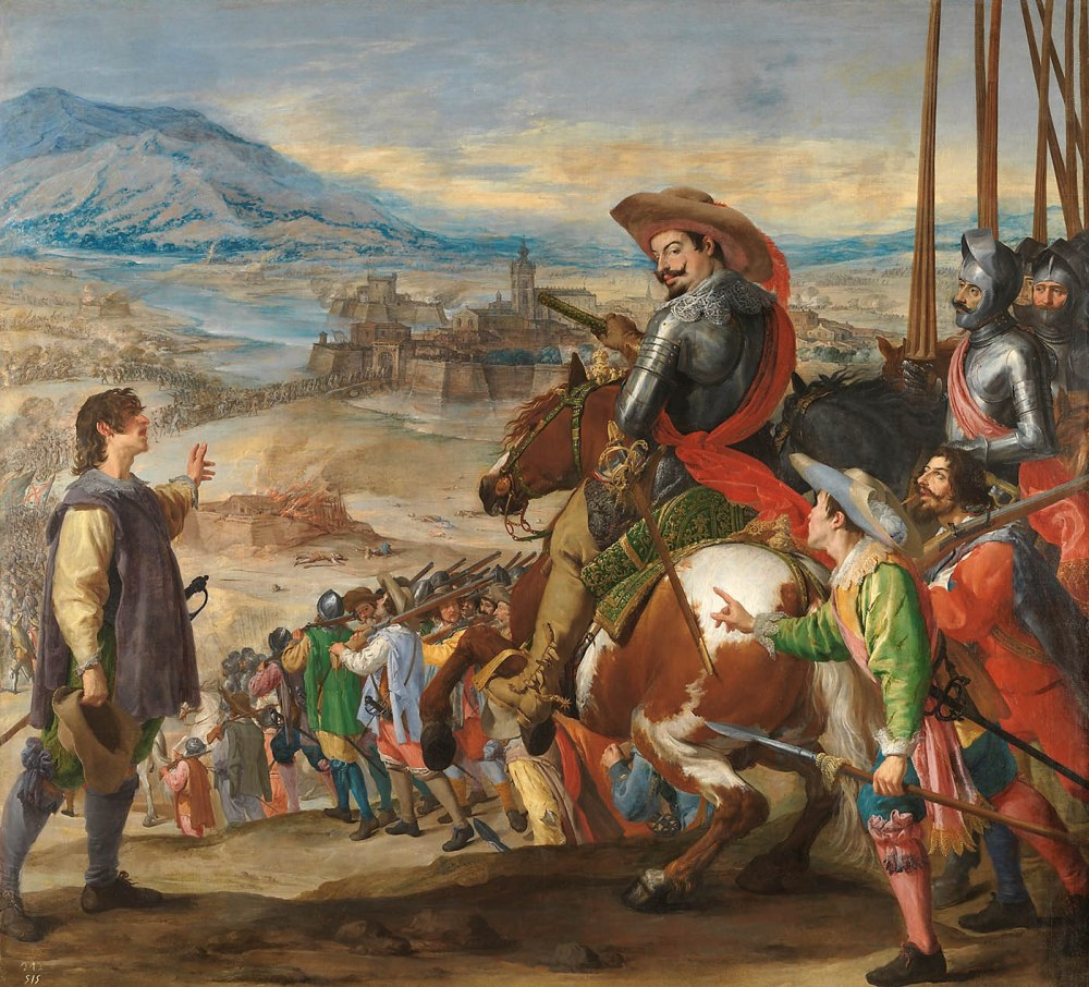Jusepe Leonardo.Socorro de Brisach. 1634-1635. Museo Nacional del Prado.