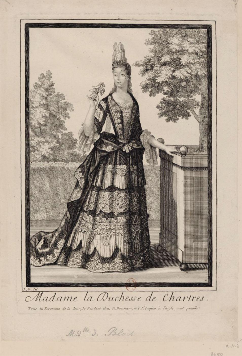 Robert Bonart. La señora duquesa de Chartres.
