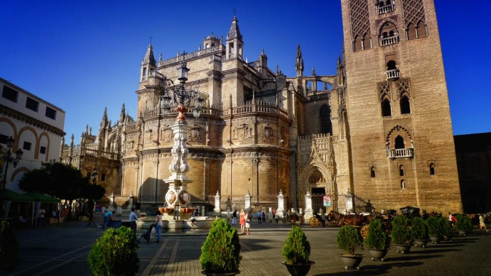 Plaza del Triunfo. Sevilla.