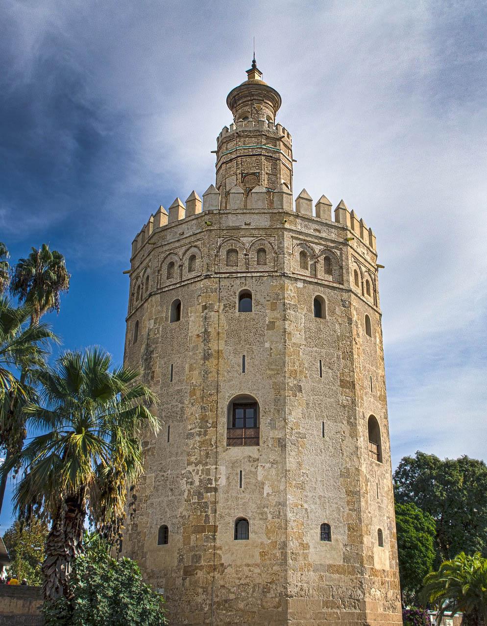 Torre del Oro. Hacia 1220-1221. Sevilla.