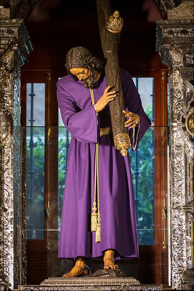 Juan Martínez Montañés. Nuestro Padre Jesús de la Pasión. 1619. Iglesia del Salvador. Sevilla.