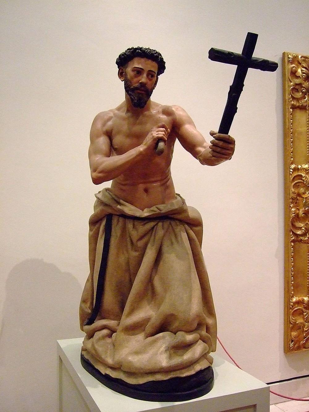 Juan Martínez Montañés. Santo Domingo de Guzman penitente.1607. Museo de Bellas Artes. Sevilla.