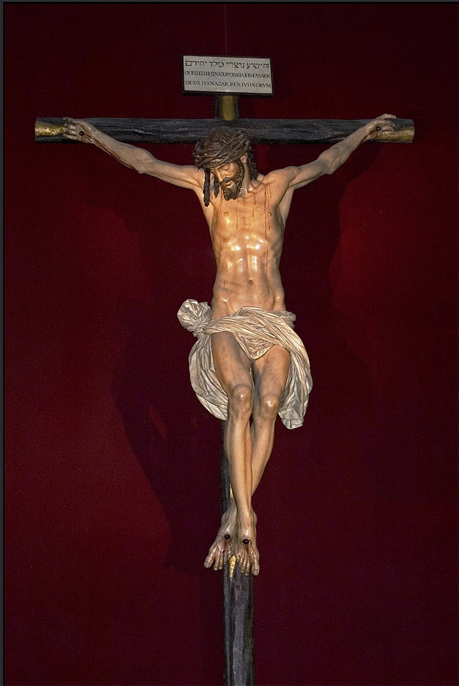 Juan Martínez Montañes. Cristo de la Clemencia. 1603-1606. Catedral de Sevilla.