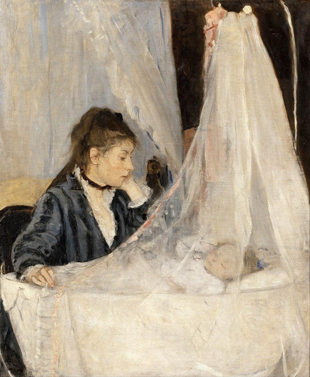Berthe Morisot. La cuna.1782. Museo d´Orsay. Paris.
