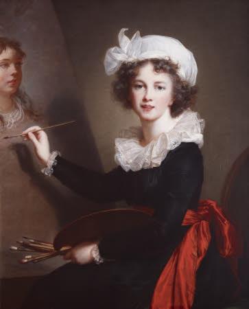 Elisabeth Louise Vigée Le Brun. Autorretrato. 1791. Ickworth. Suffolk. Reino Unido.