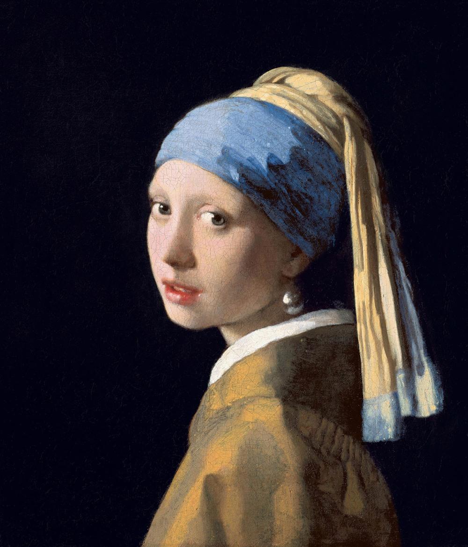 Johannes Vermeer. La joven de la perla. Hacia 1665. Mauritshuis museum. La Haya.