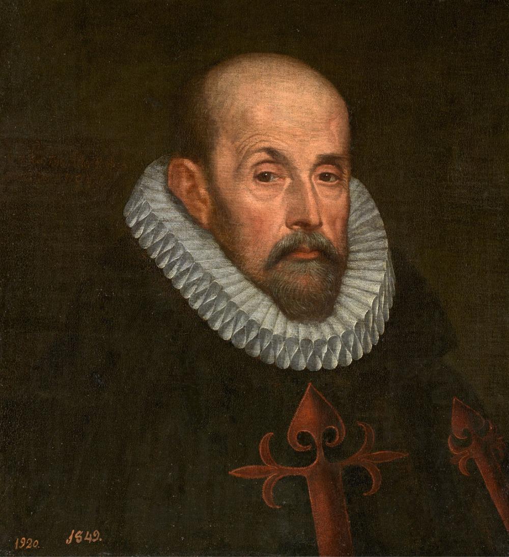 Juan Pantoja de la Cruz. Retrato de un caballero santiaguista. 1601. Museo Nacional del Prado. Madrid.