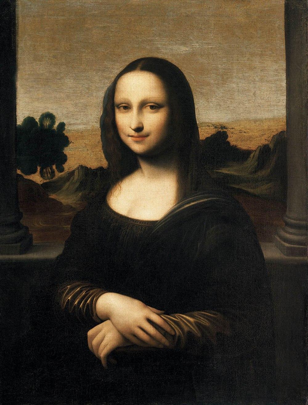 Anónimo (Atribuído a Leonardo da Vinci).  Mona Lisa de Isleworth. 1410-1455.  Colección Particular.
