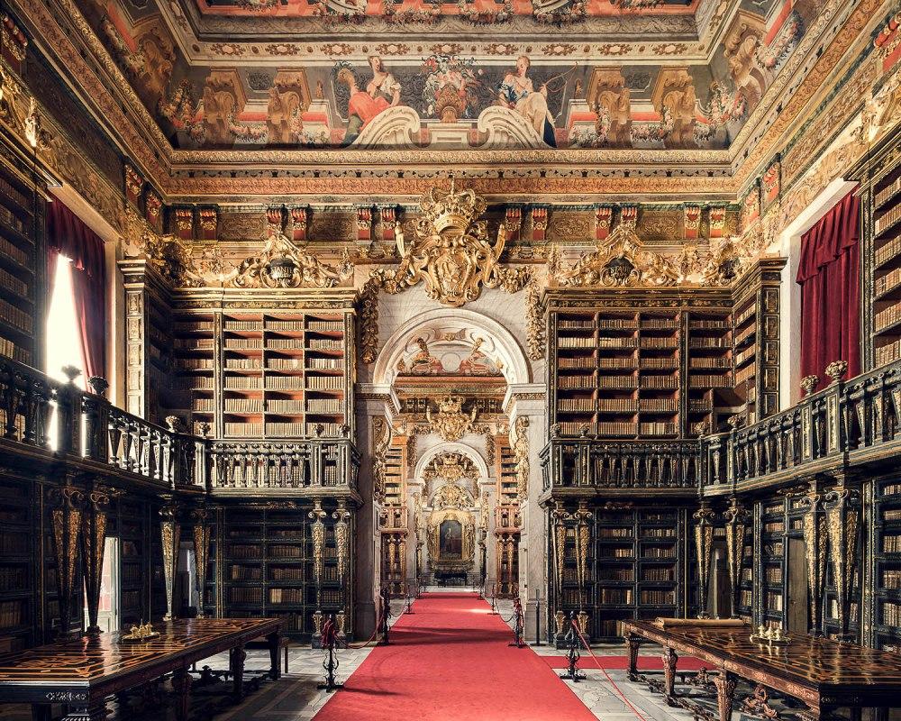 Biblioteca Joanina de la Universidad de Coimbra