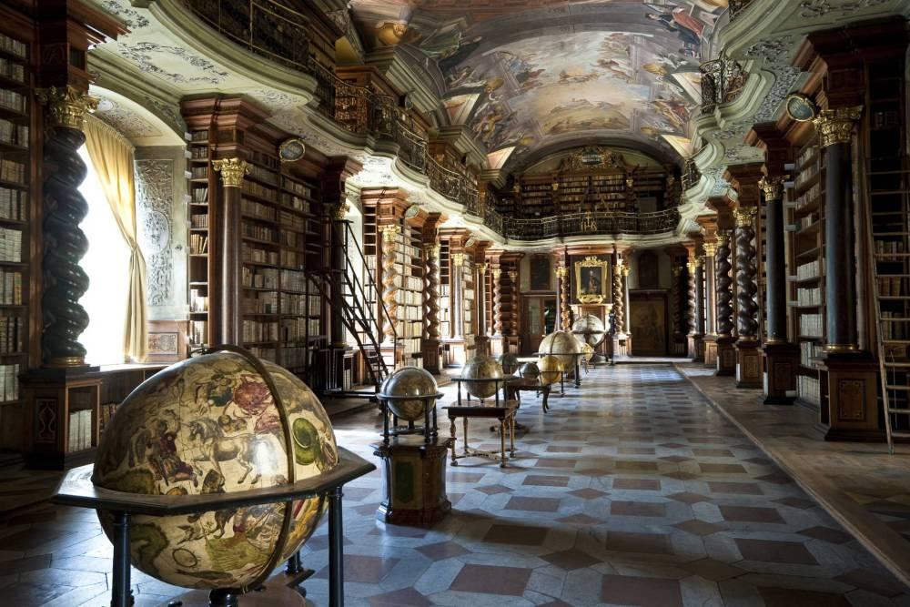 Biblioteca Clementina. 1781-1782. Praga.