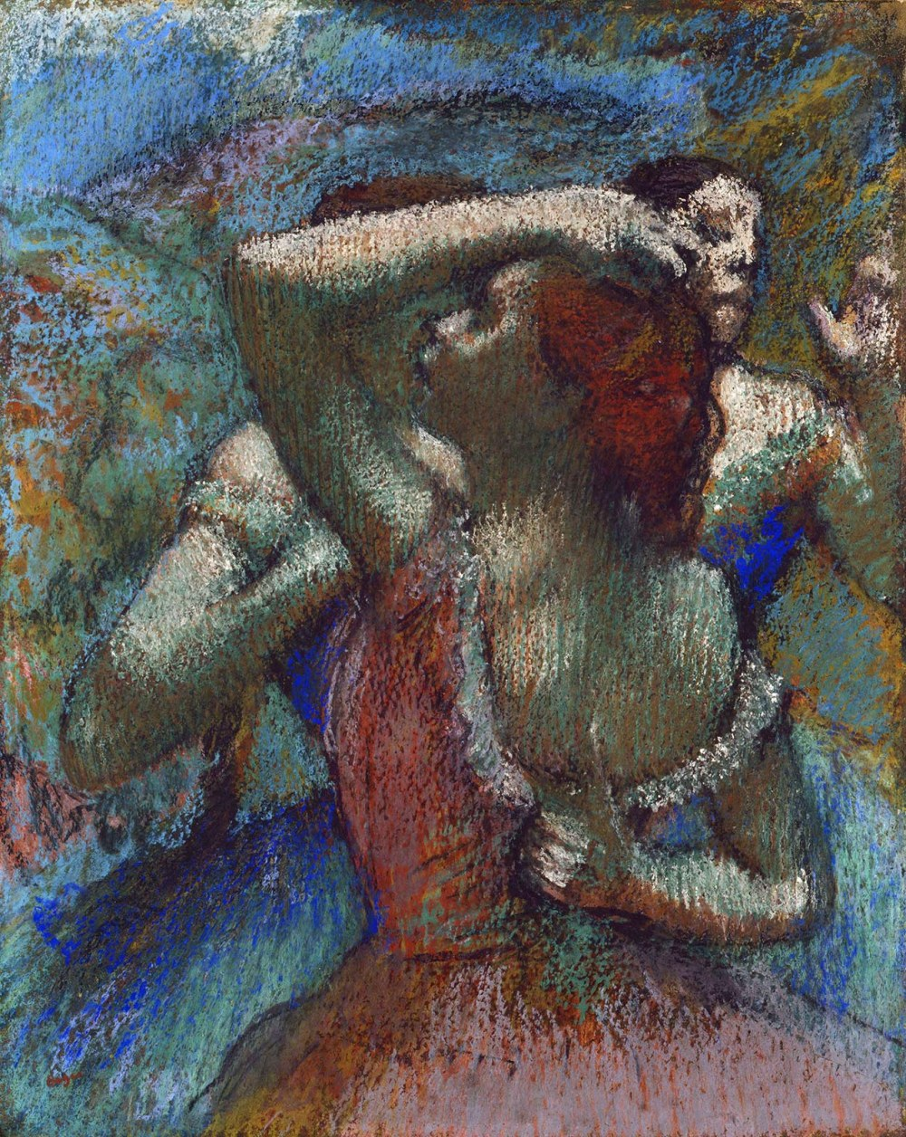 Edgar Degas. Bailarinas.1900. Princeton University Art Museum. Nueva Jersey.