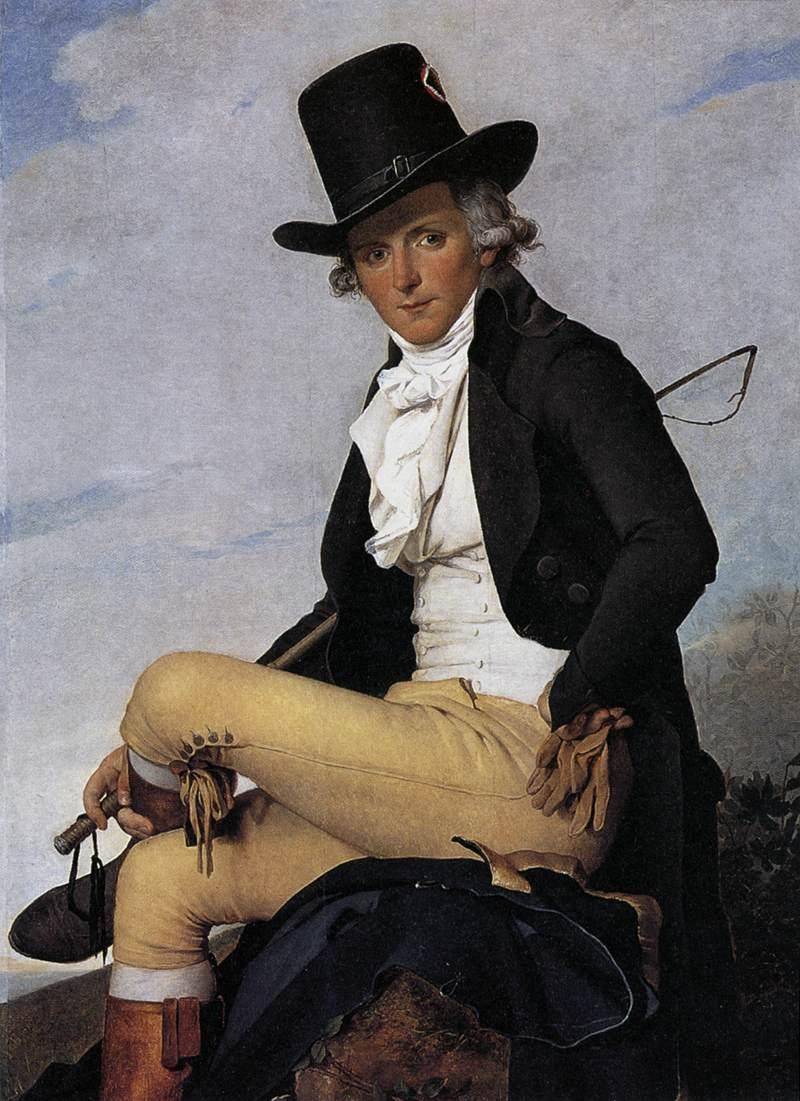 Jacques-Louis David. Pierre Seriziat. 1795. Museo del Louvre. París.