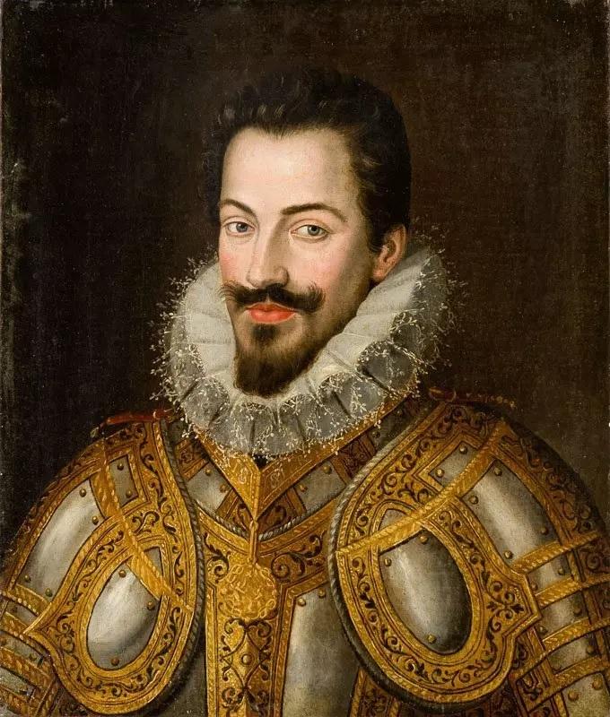 Jan Kraeck. Carlos Manuel. I duque de Saboya. Siglo XVI. Colección Particular