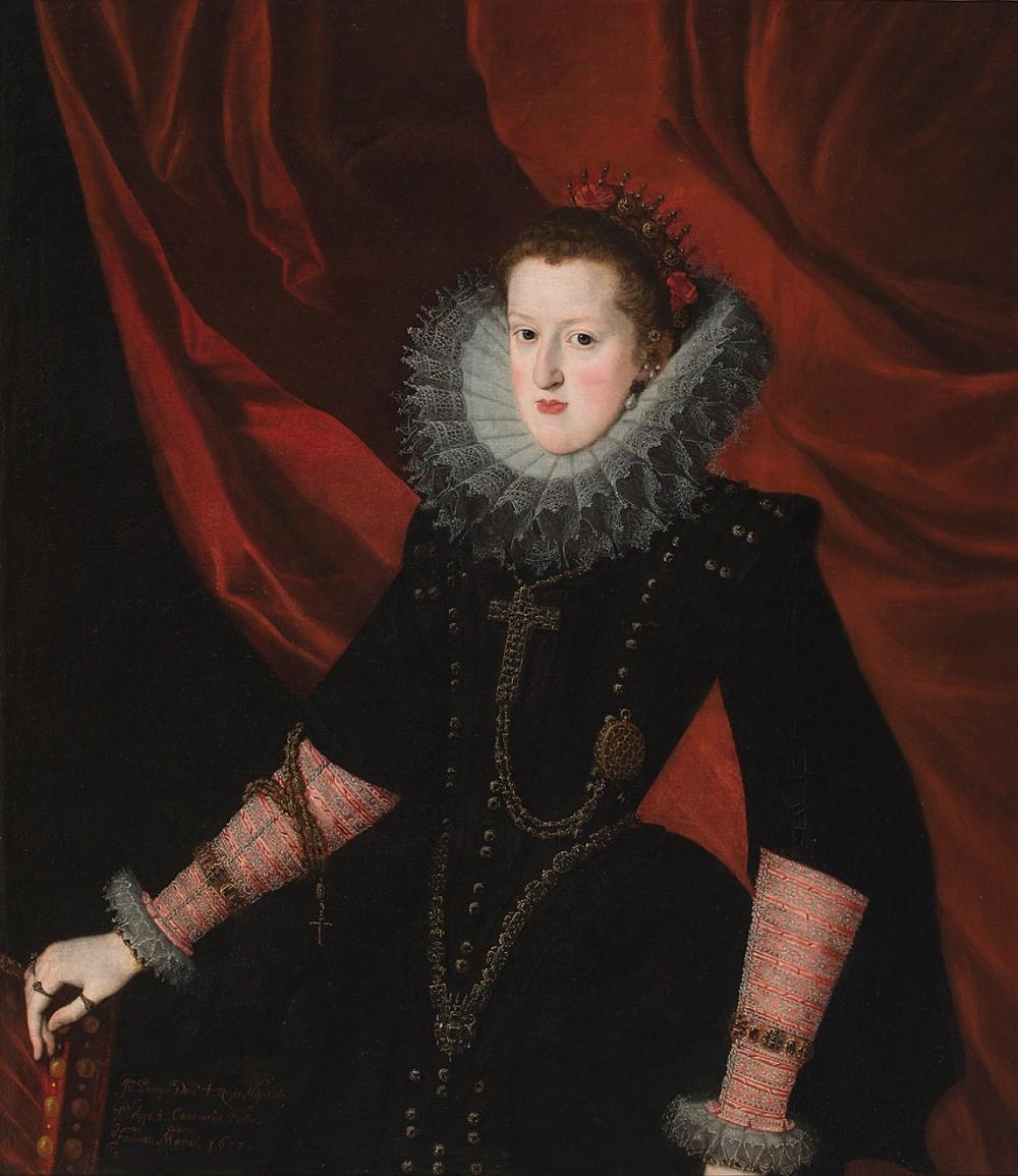 Juan Pantoja de la Cruz. Margarita de Austria, reina de España.1607. Museo Nacional del Prado. Madrid.