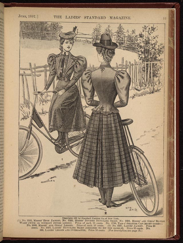 Ladies Standar Magazine. Abril de 1894.