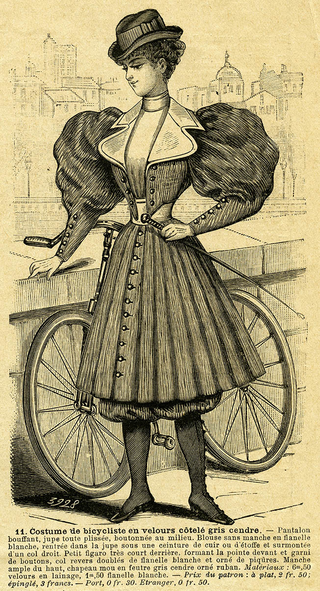 Le Petit Echo de la Mode. 7 de abril de 1895.