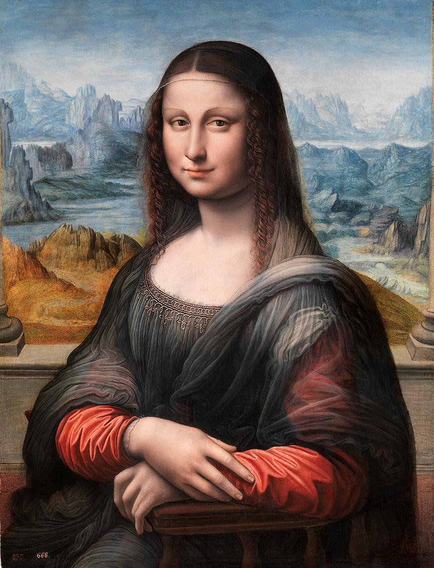 Taller de Leonardo da Vinci. Mona Lisa. 1503-1519. Museo Nacional del Prado. Madrid.