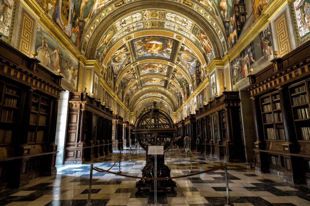 Biblioteca del Real Monasterio del Escorial. 1565.