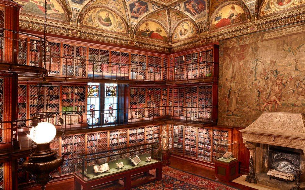 Biblioteca Morgan. Nueva York.