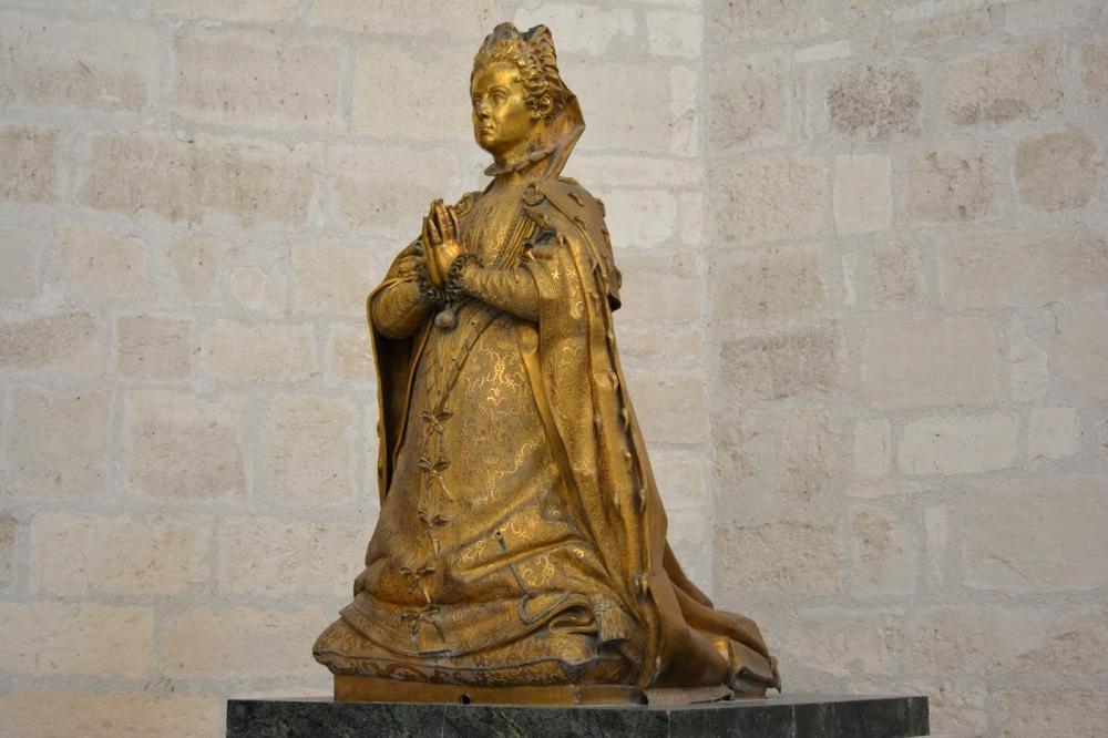 Pompeo Leoni. Estatua orante de la Duquesa de Lerma. 1601-1608. Museo Nacional de Escultura, Valladolid