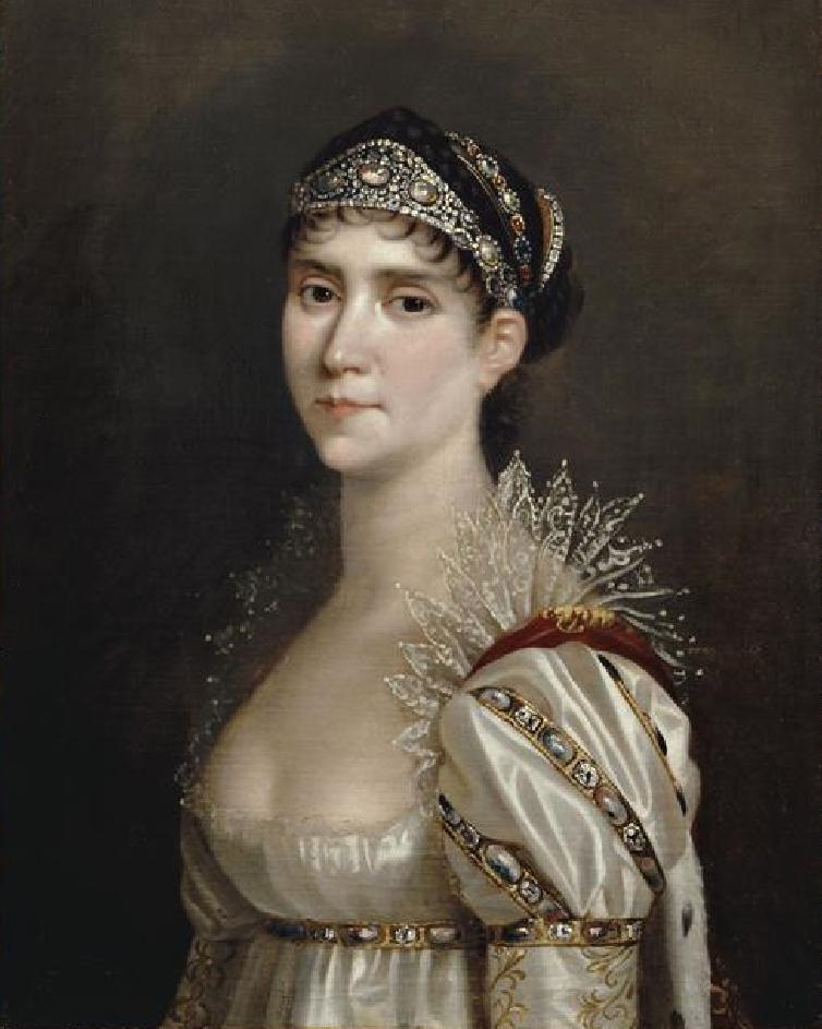 Robert Lefevre. Retrato de Josefina. Hacia 1805. Chateâux de Malmaison et Bois-Preau. Francia.