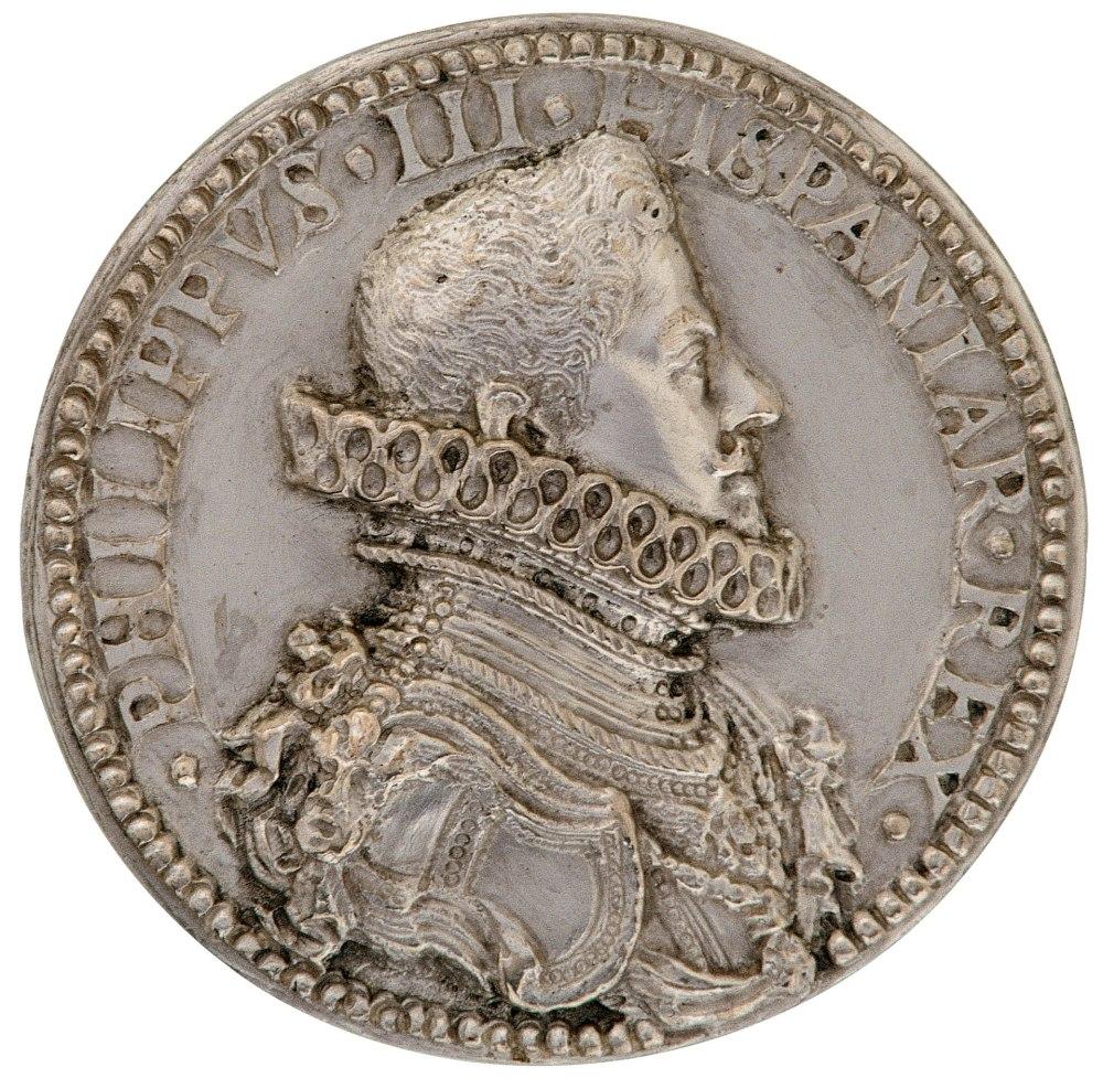Rutilio Gaci. Felipe III, rey de España - Margarita de Austria. 1609. Museo Nacional del Prado. Madrid.