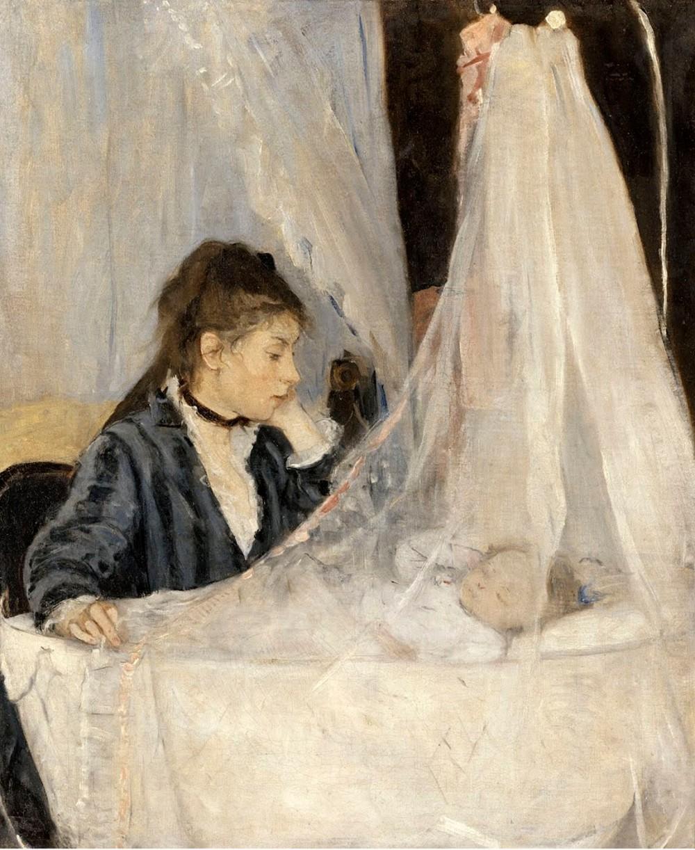 Berthe Morisot. La cuna. 1872. Museo d´Orsay. París.