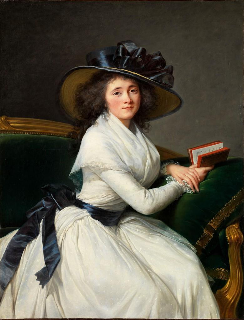 Élisabeth Vigée Le Brun. Retrato de la condesa de la Châtre. 1789. Museo Metropolitano. Nueva York