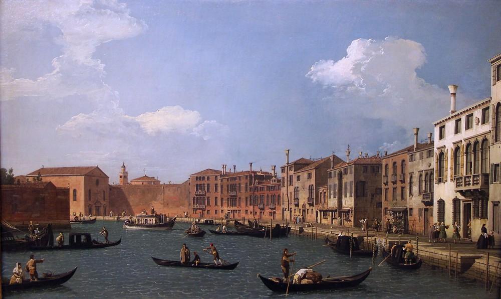 Canaletto. Canal de Santa Clara. 1730. Musée Cognacq-Jay. París