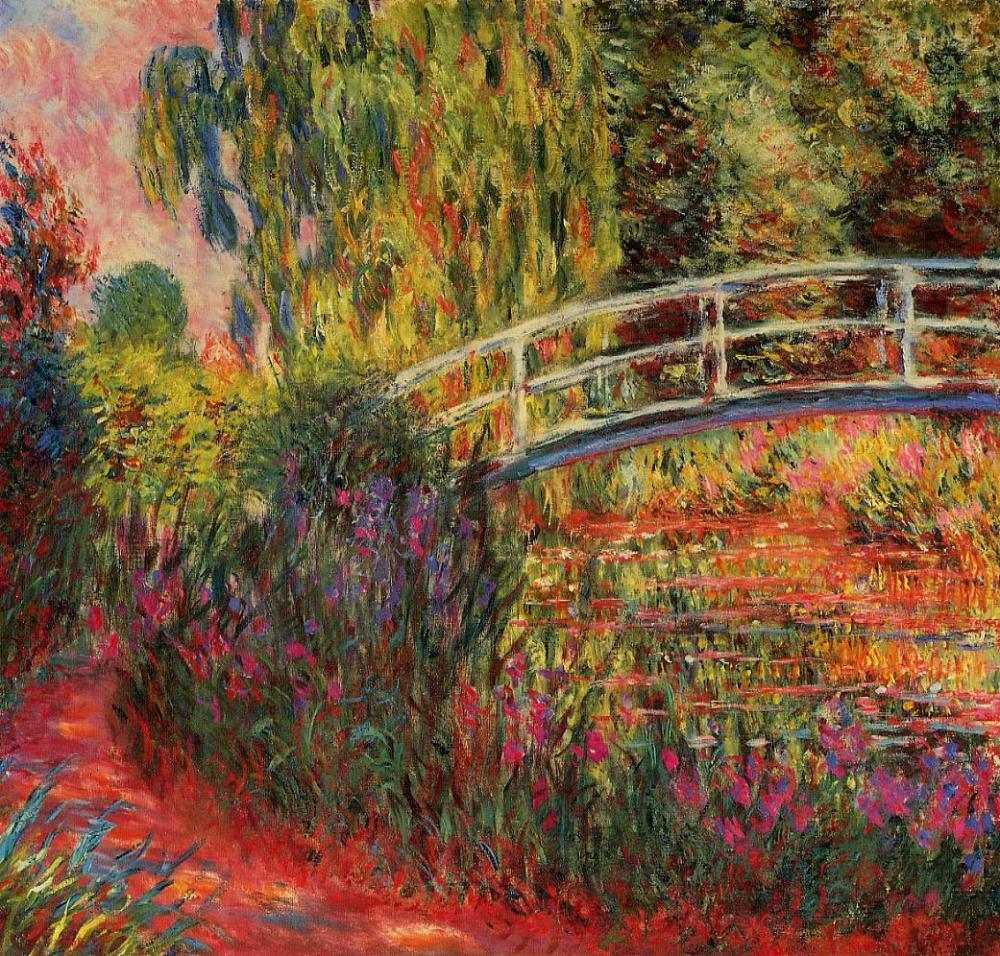 Claude Monet. El estanque de nenúfares. 1900. Museo de Bellas Artes. Boston.