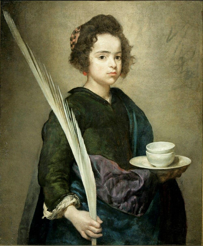 Diego Velázquez. Santa Rufina. 1629-1632. Fundación Focus. Sevilla.