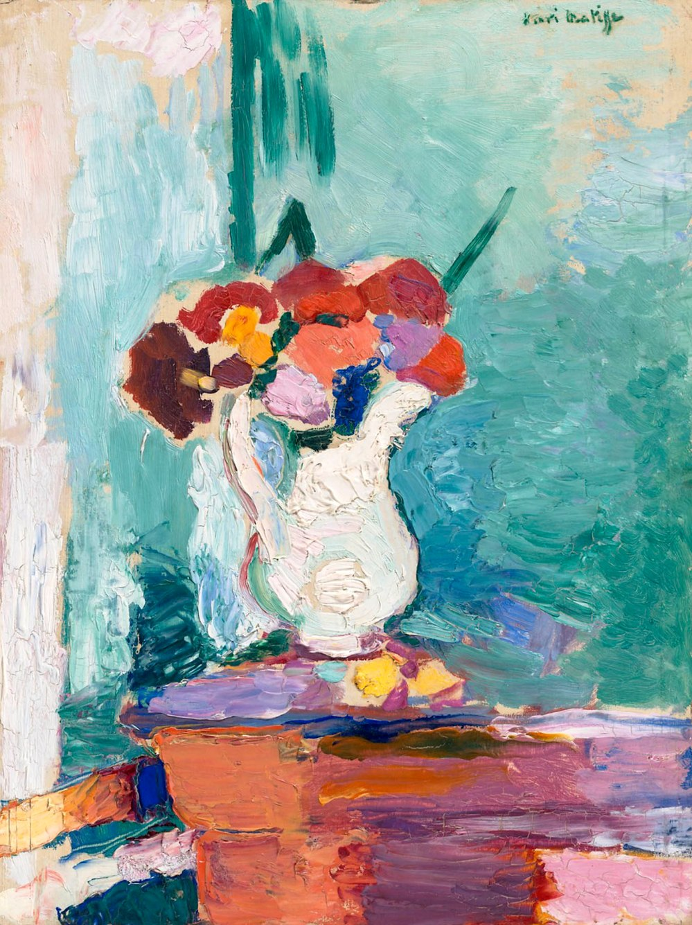 Henri-Emile Matisse. Flores. 1907. National Gallery of Art. Washington.