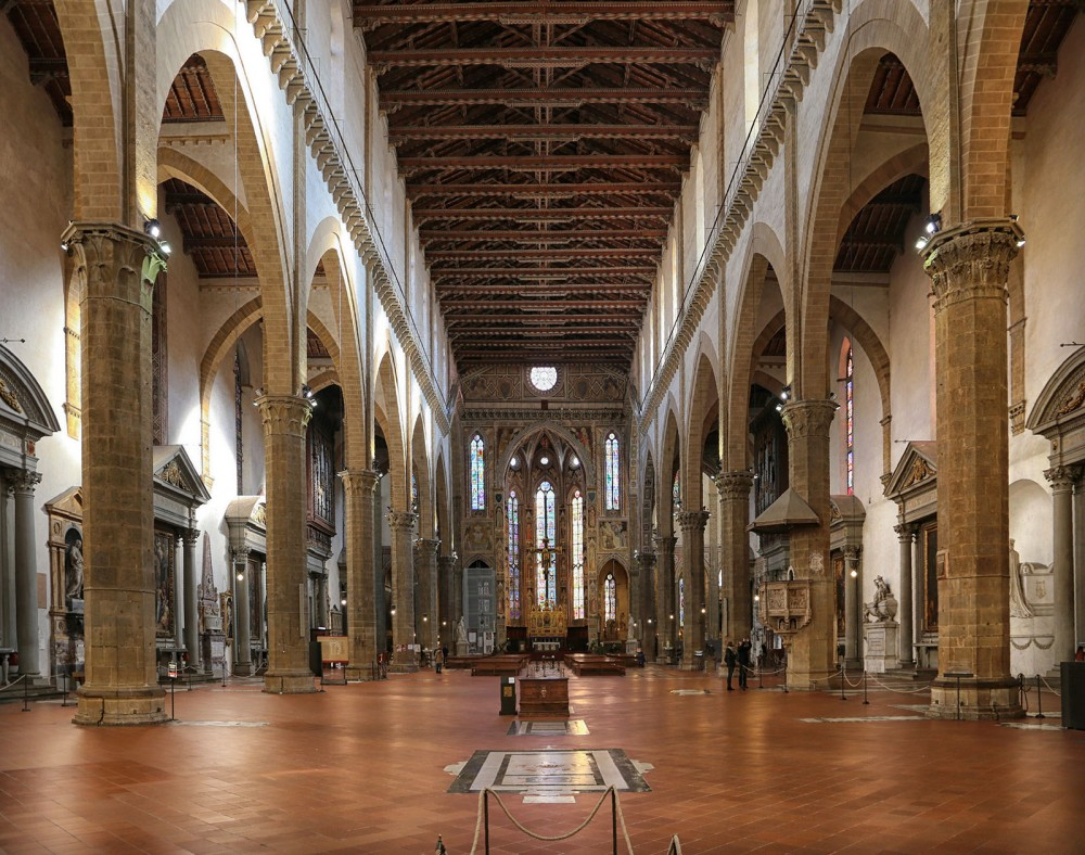 Iglesia de la Santa Croce. Florencia.