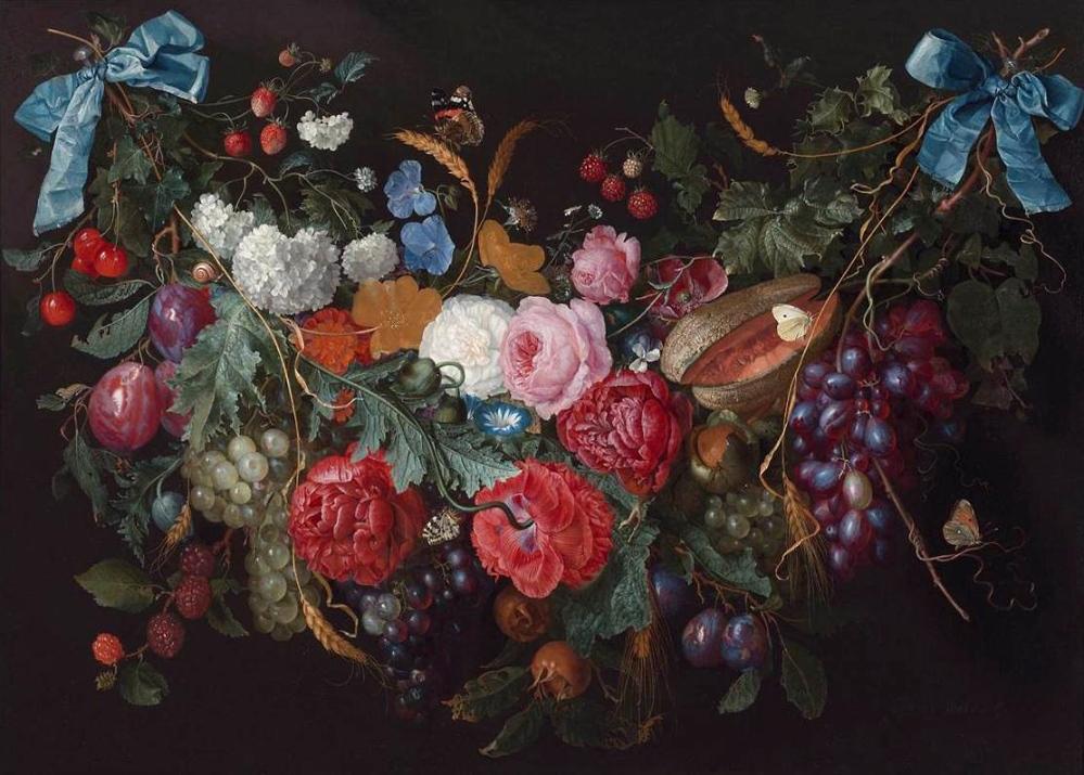 Jacob van Walscapelle. Un botín de flores. Hacia 1670. Colección particular.