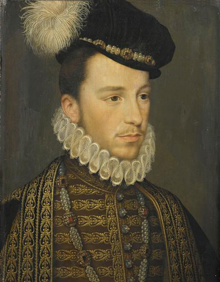 Jean de Court (Atribuido). Enrique III de Francia. Musée Condé. Castillo de Chantilly.