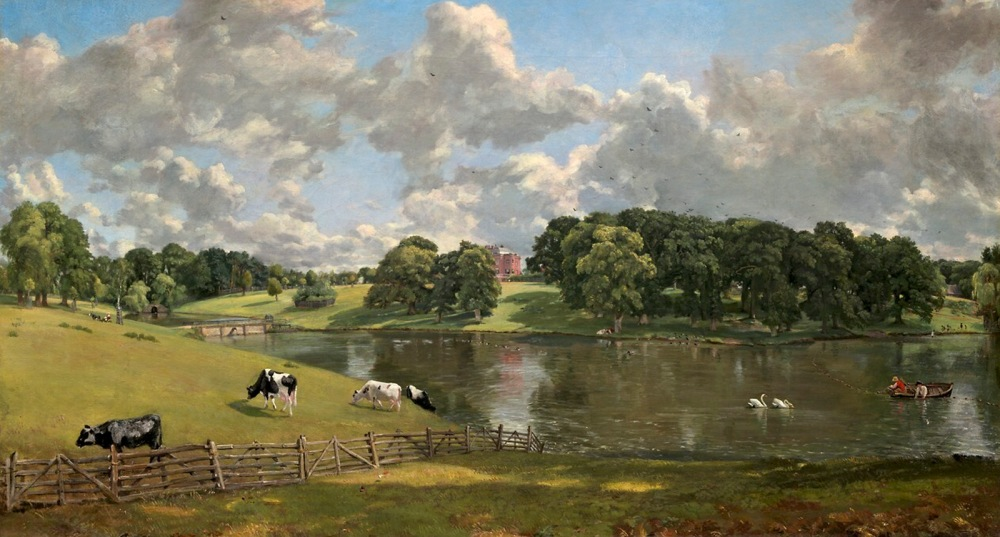 John Constable. Wivenhoe Park, Essex. 1816. National Gallery. Washington.