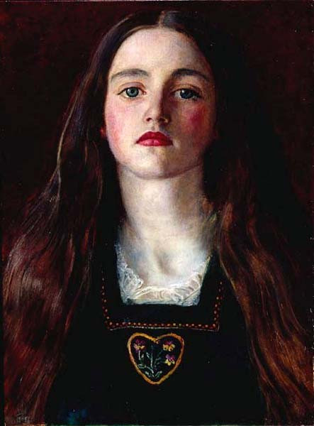 John Everett Millais. Sophie Gray. 1857. Colección particular.