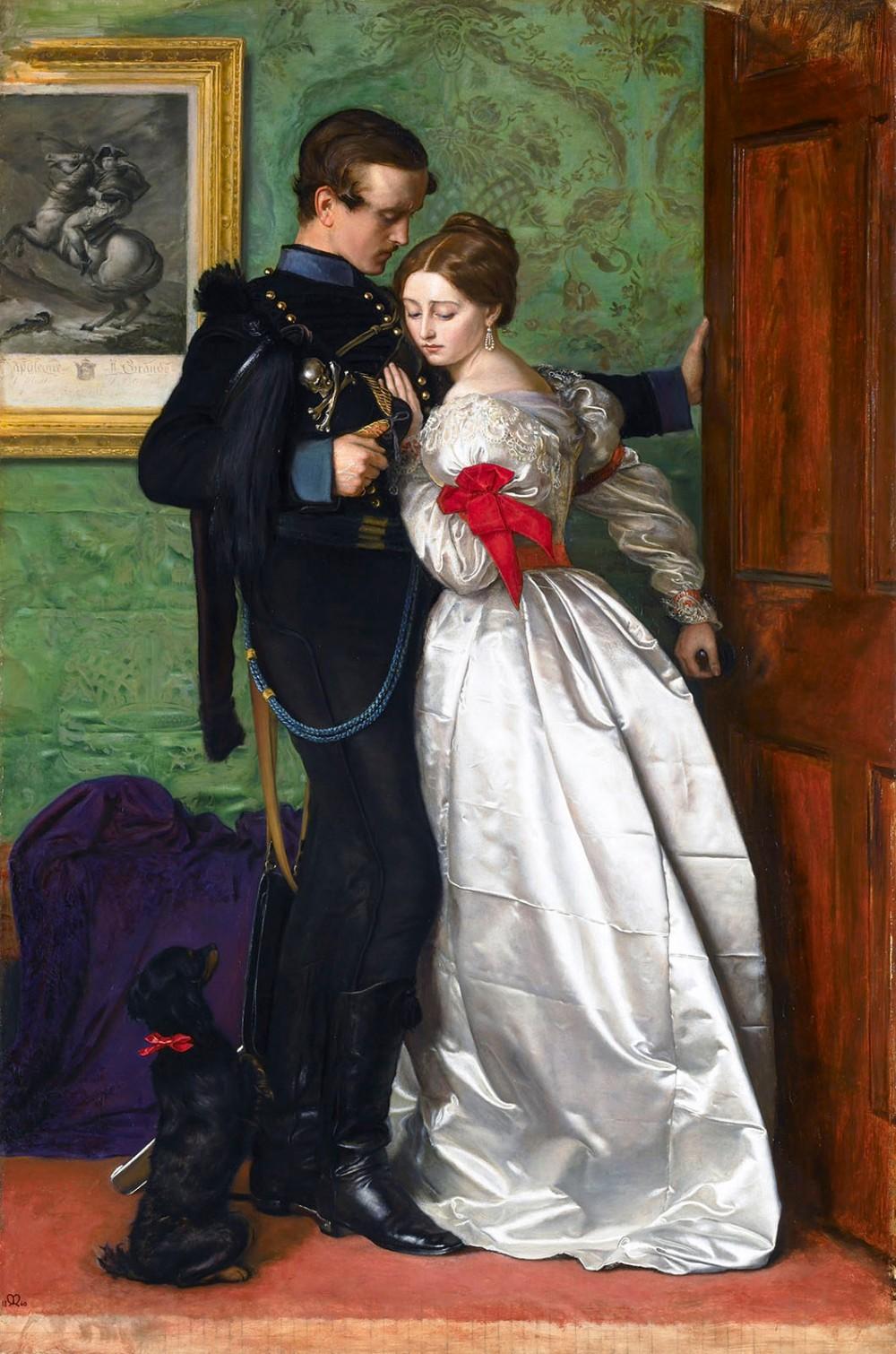 John Everett Millais. The Black Brunswicker. 1860. Lady Lever Art Gallery. Liverpool.