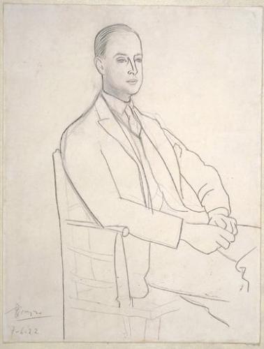 Pablo Picasso. Albert Clinton