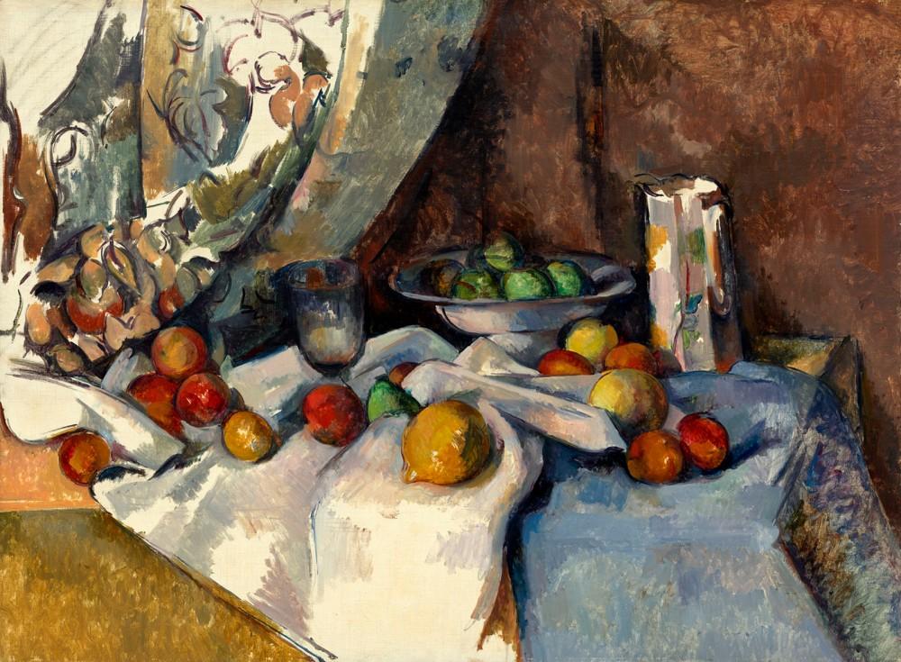 Paul Cézanne. Bodegón con manzanas. 1895-1898. MOMA. Nueva York.