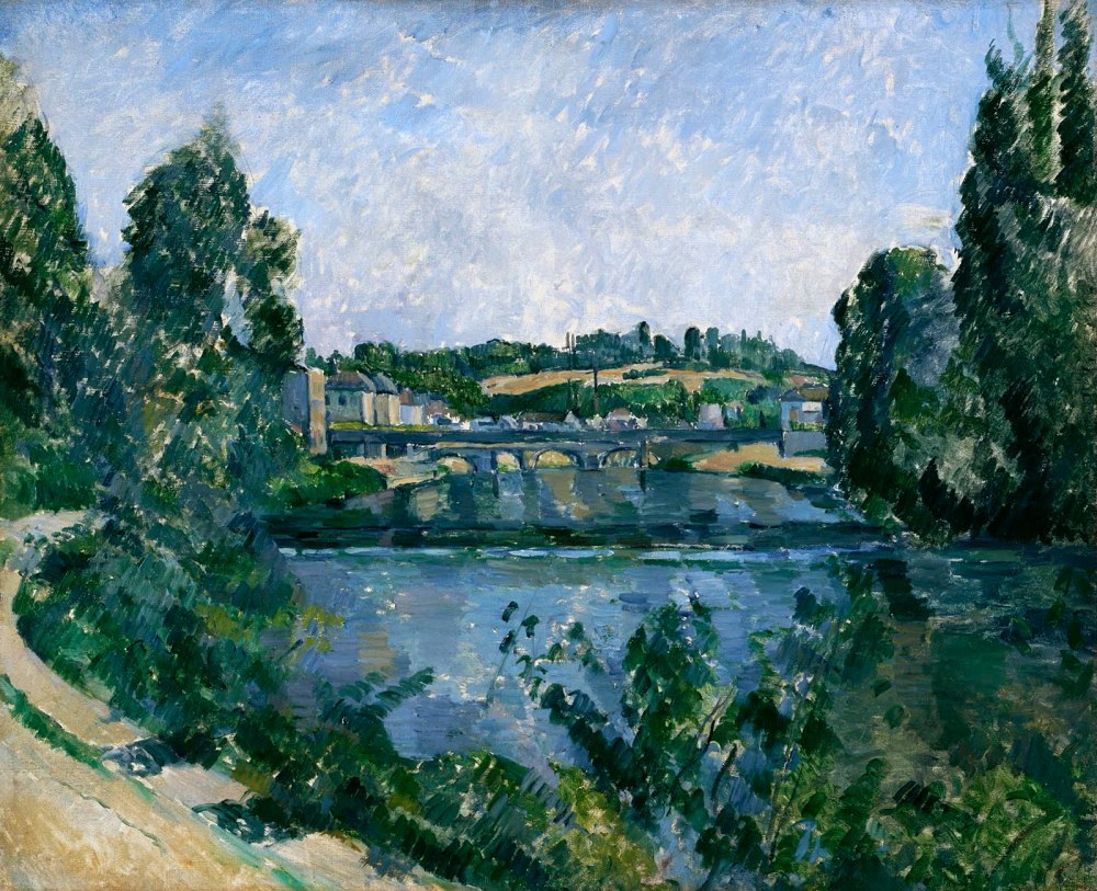Paul Cézanne. El puente y la presa en Pontoise. 1881. The National Museum of Western Art. Tokyo.
