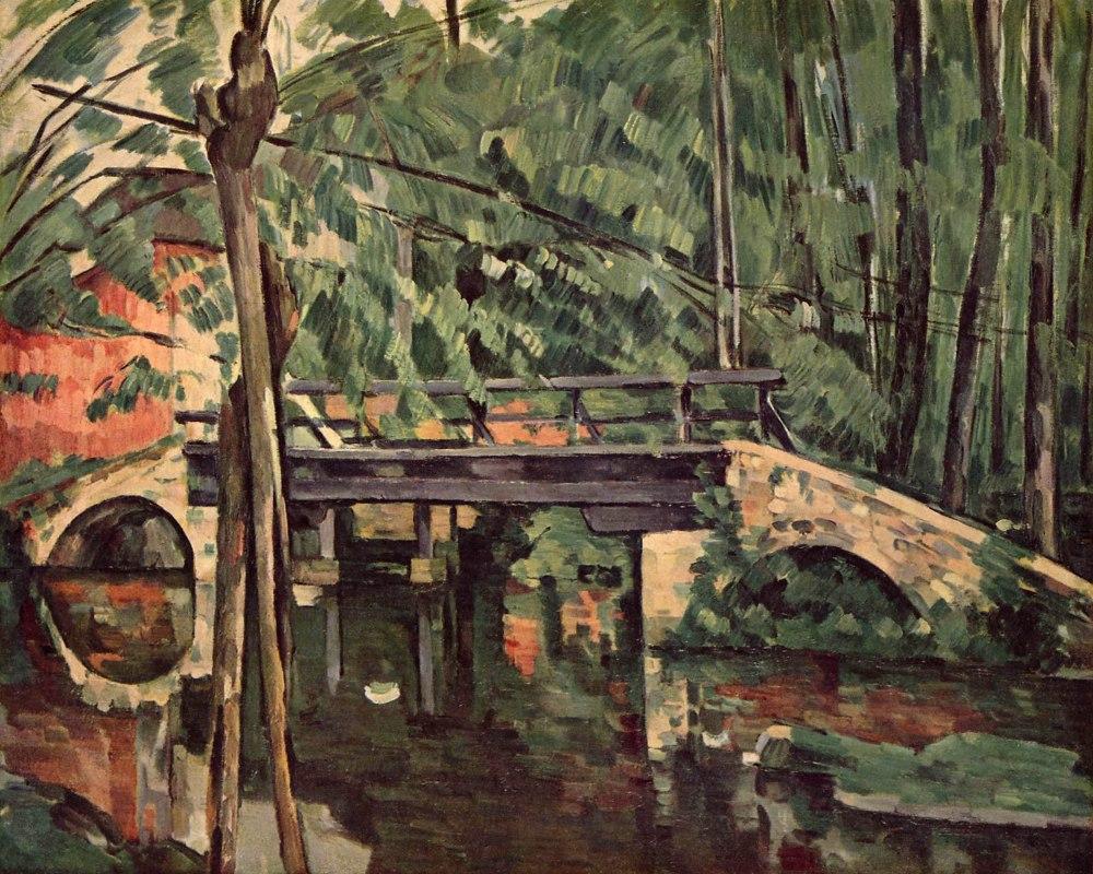 Paul Cézanne. Puente de Maincy. Hacia 1879. Musée d´Orsay. París.