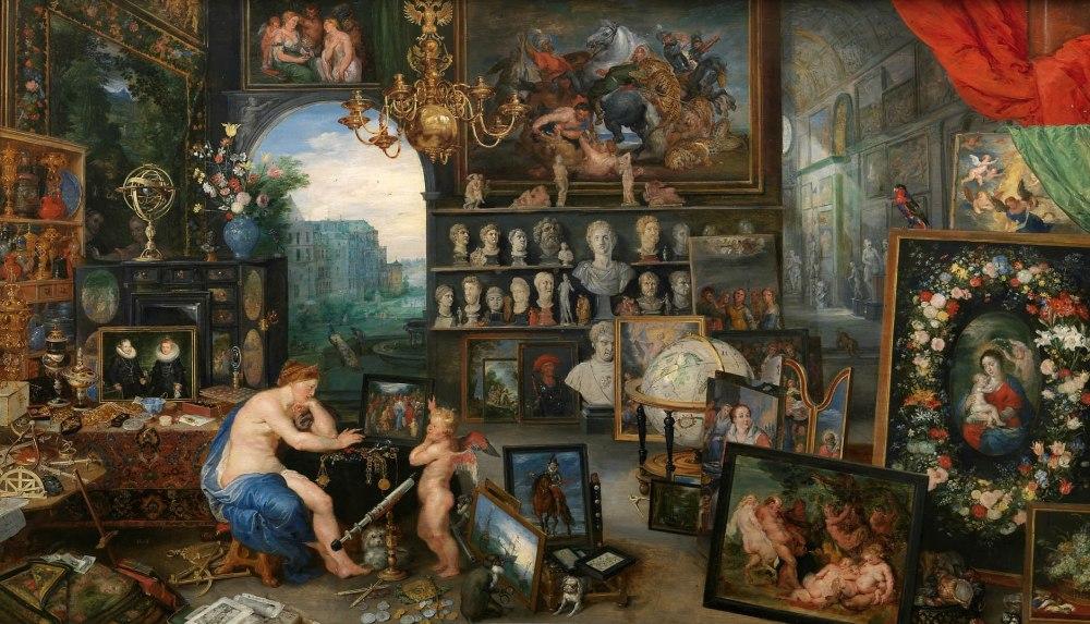 Pedro Pablo Rubens y Jan Brueghel el viejo. La Vista. 1617. Museo Nacional del Prado. Madrid.
