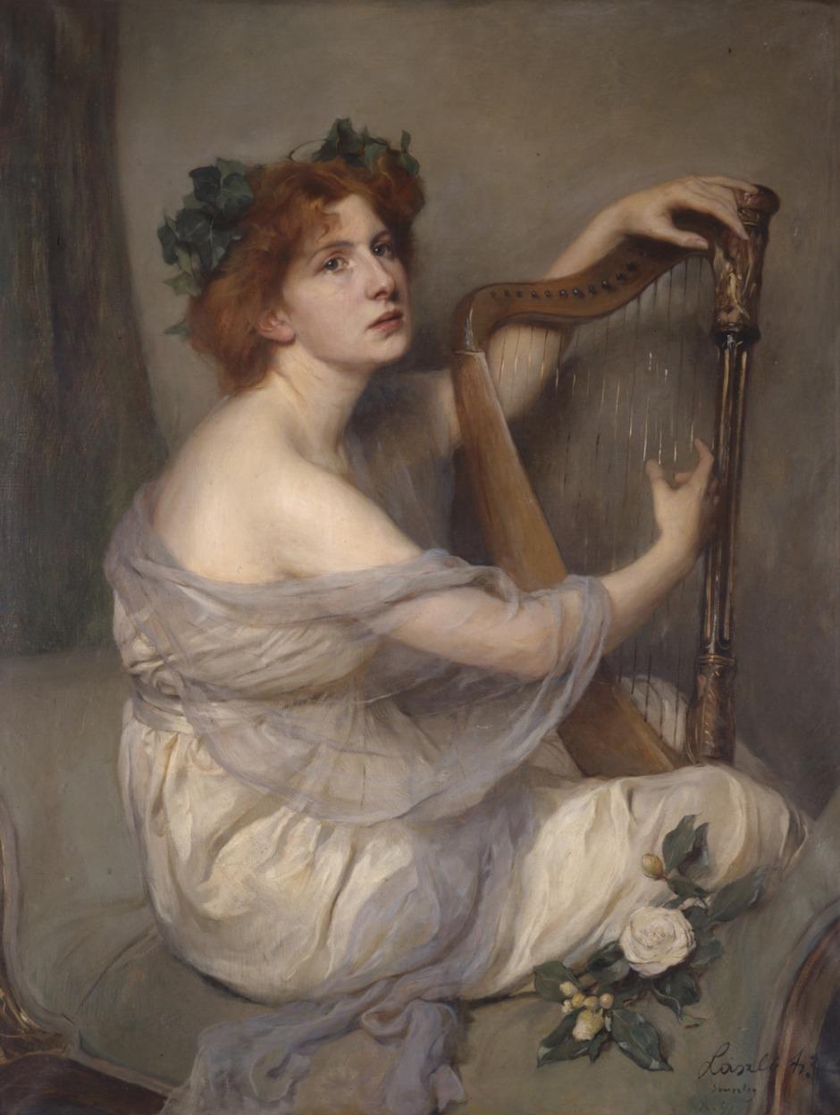 Philip Alexius de László. Catherine d'Erlanger, 1899, Messum's Fine Art. Londres.