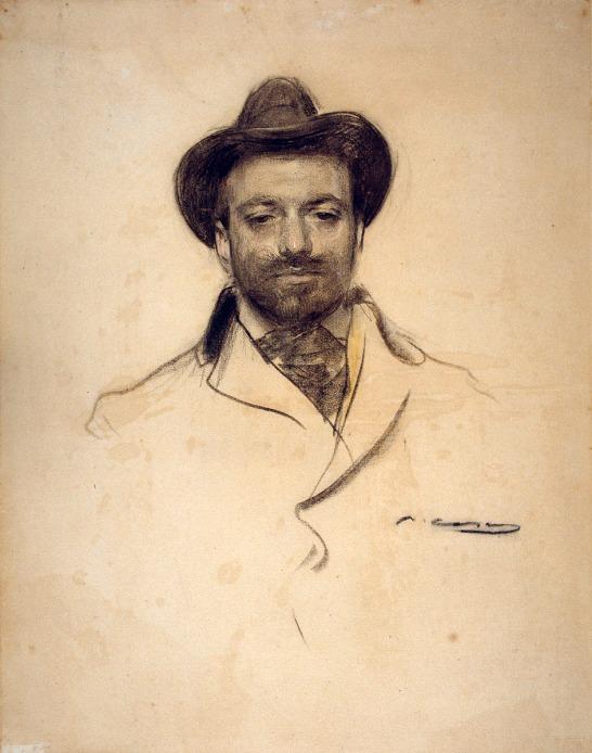 Ramon Casas. Jose María Sert. Hacia 1904. Museo Nacional de Arte de Cataluña. Barcelona