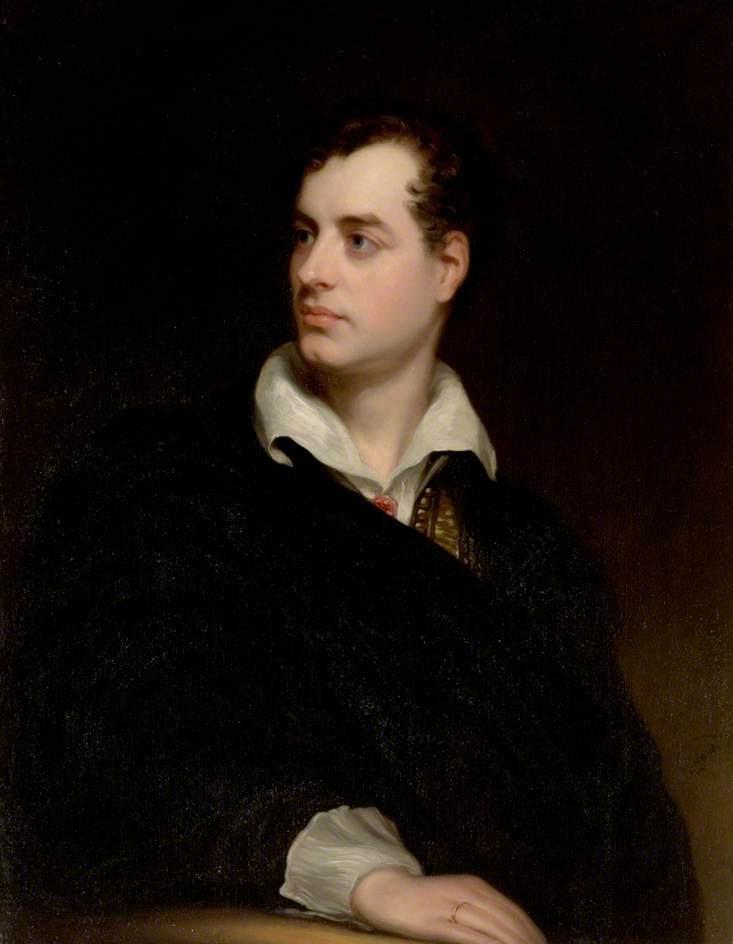 Thomas Phillips. Lord Byron. 1813. Newstead Abbey. Inglaterra.